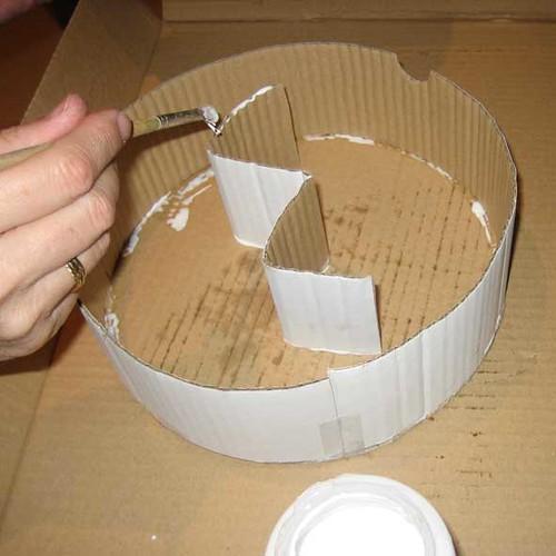 Tutorial c mo hacer una falsa tarta bueno bonito y barato for Materiales para hacer un piso