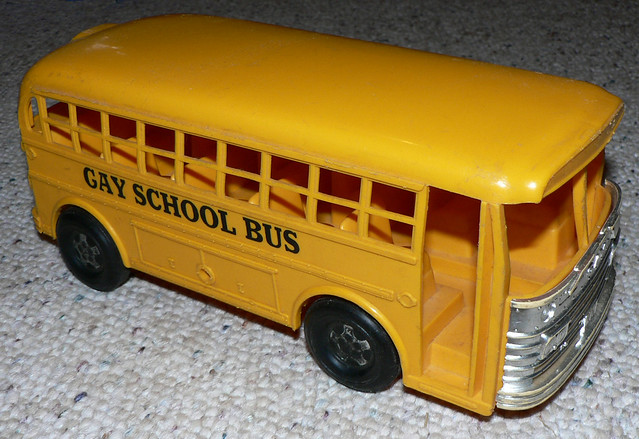 autobús gay juguetes gay