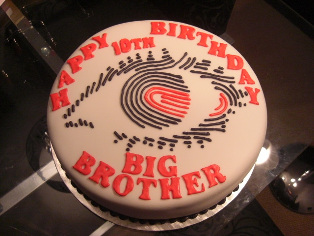 Big Brother Birthday Cake  I had to stick this one in the a ...