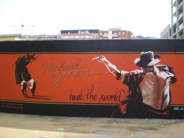 Michael Jackson in Barcelona