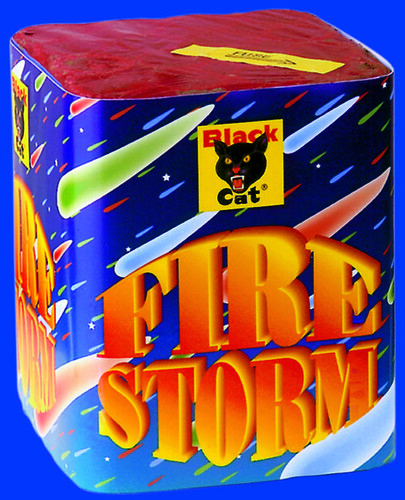 FIRE STORM by BLACK CAT FIREWORKS