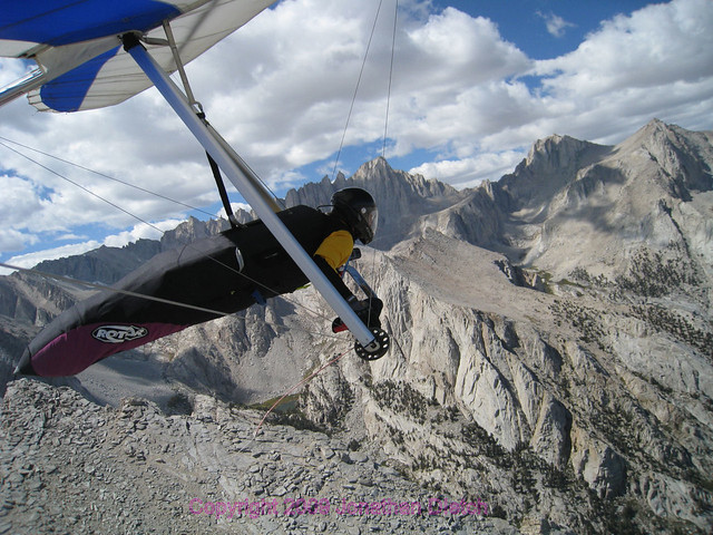 Magnificent Mt Whitney Soaring: Hang glider video | General