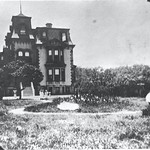 FULTON MANSION IN 1890 ...