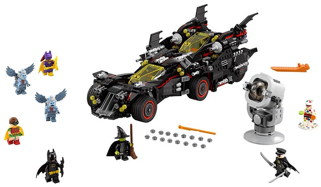 70917 The Ultimate Batmobile 1