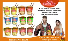 Junk Food - Sup Noodles (Ramen Cups!)