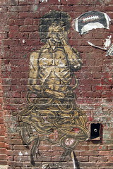 NYC - Brooklyn - DUMBO: Streetart by Gaia