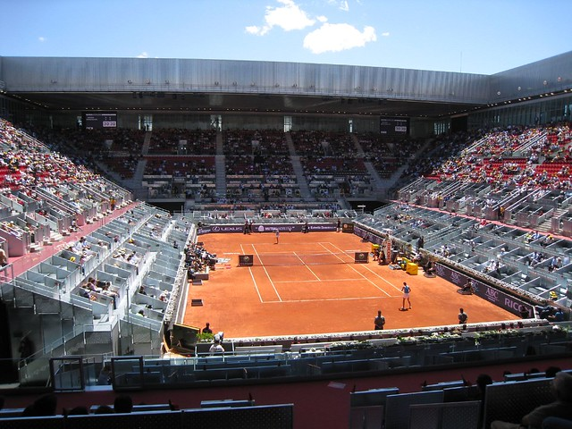 Madrid Open Center Court - Caja Magique with retractable roof (3)