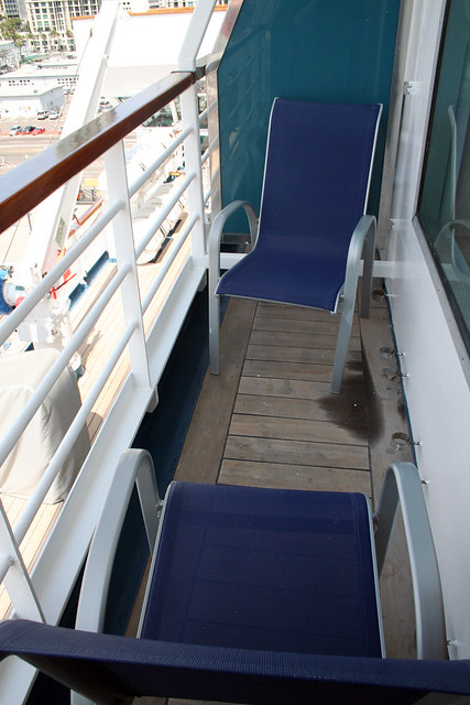 Carnival elation verandah demi suite balcony flickr for Balcony in cruise ship
