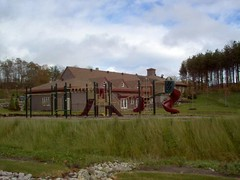 Carriage Ridge Resort's Playground in in Barrie, Ontario