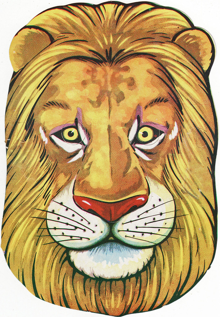 HD wallpapers lion mask for coloring