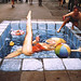 Amazing 3D Sidewalk Chalk  Art 30