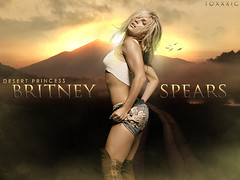 Britney Spears - Desert Princess + Comeback! + 7.000 vistas