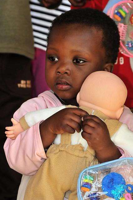 U S Service Members Visit Swazi Orphanage During Medflag