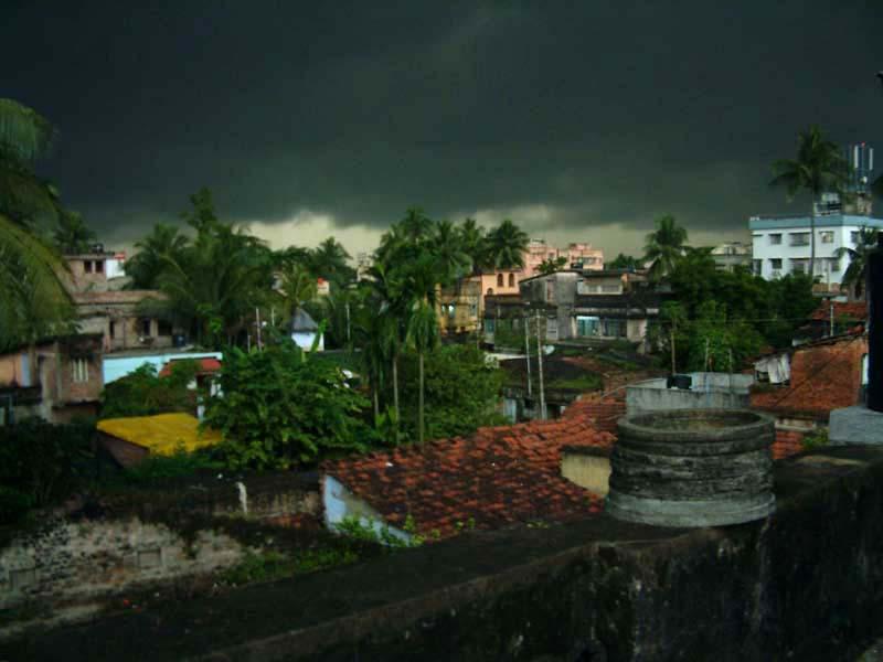 Storm over Behala