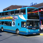 Arriva Yorkshire 664 W664CWX Pontefract Bus Station. 12th September-2009