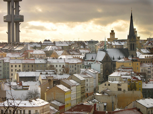 Premonition of Prague winter