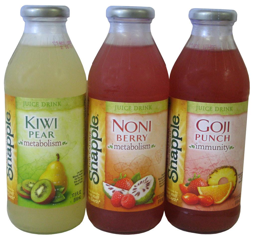 Snapple Juice Drinks