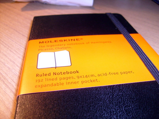 My first moleskine