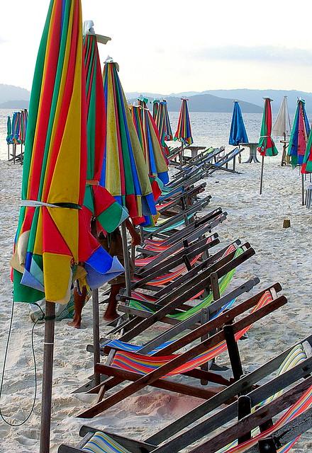 Gli ombrelloni del paradiso - The umbrellas of paradise