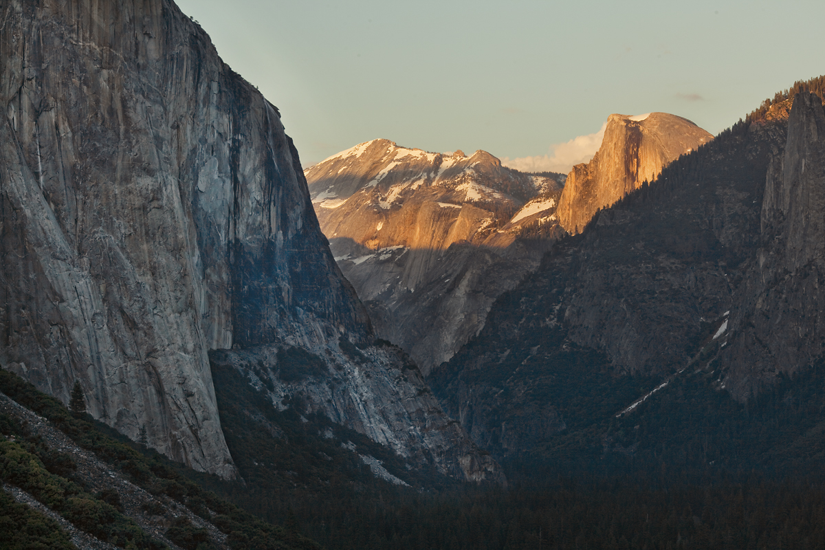Half Dome in evening light