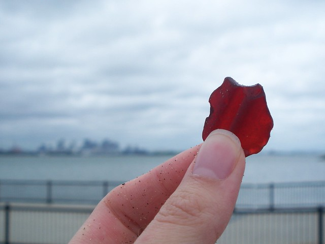 anna found red sea glass