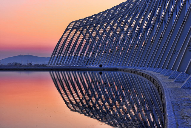 calatrava fire and ice:  a peaceful place to read