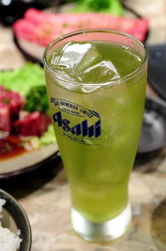 秘苑燒肉-綠茶啤酒 (500)