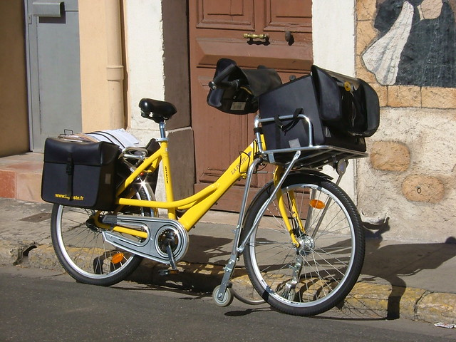 French Post Delivery Bike