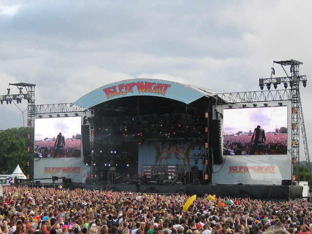 Isle of Wight Festival Stage