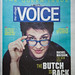 Rachel on the cover of The Village Voice by The Rachel Maddow Show