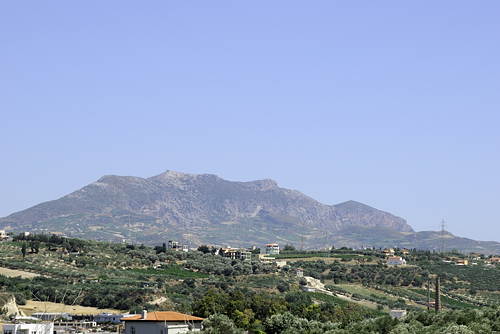 Heraklion - Hl. Berg Jouchtas - Antlitz des schlafenden Zeus