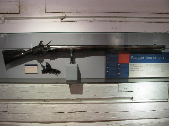 Fort York 65 - Blockhouse No. 2 - British - .98 calibre (25mm) Rampart Gun - 1793