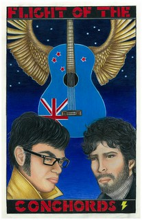 Flight of the Conchords Poster Contest entry
