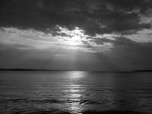 Black & White Sunset!