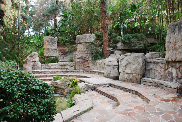 110 l a police academy rock garden flickr photo sharing for Landscaping rocks yuba city ca