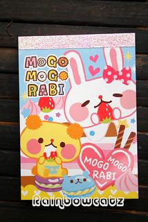 Japan Kamio Mogo Mogo Rabi Macaroon Memo Pad