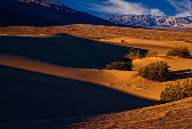 Death Valley Dune shadows