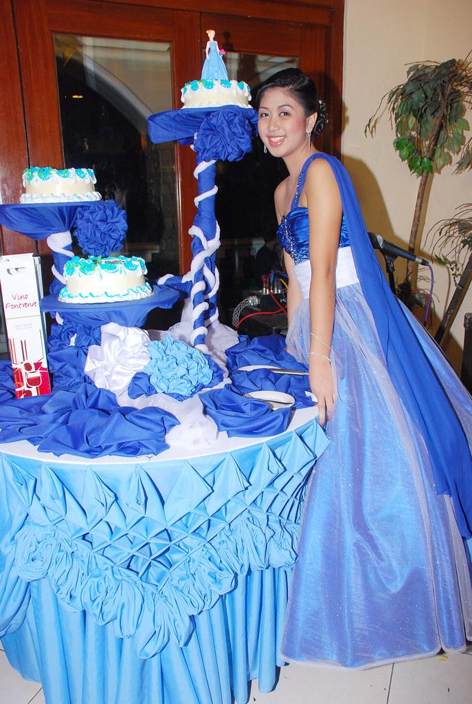 Debut Cake Cutting Carol Ombrete Flickr