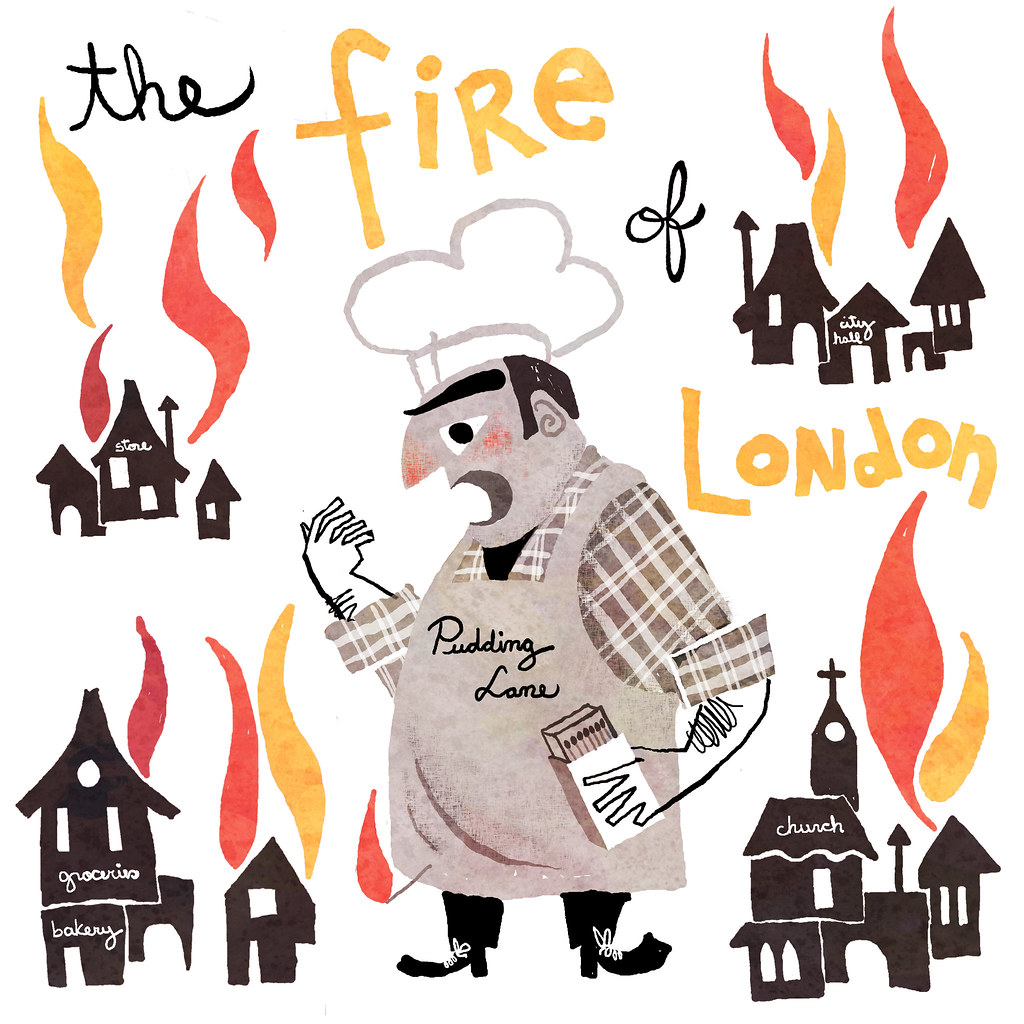 Image result for great fire of london bakery