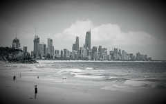 Surfers Paradise from Burleigh Heads