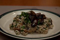 mmmmmm mushroom risotto