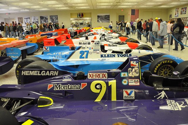 Indianapolis Motor Speedway Museum by CC user pat_ossa on Flickr