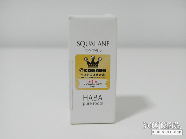 haba pure roots squalane