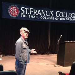 Seamus McGraw talks about fracking and family at #sfcny #seamusmcgraw