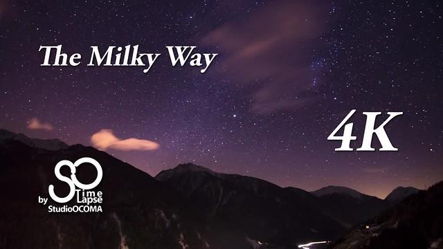 Amazing 4K Timelapse of a beautiful cloudy starry dark night with the Milky Way, Orion and JupiterTimelapse 4K incroyable de Notre Magnifique Voie Lactée avec Orion et JupiterPracupola - Bolzano - South Tyrol - Italy11mm - f2.8 - 30sec - 1000iso#Timelapse