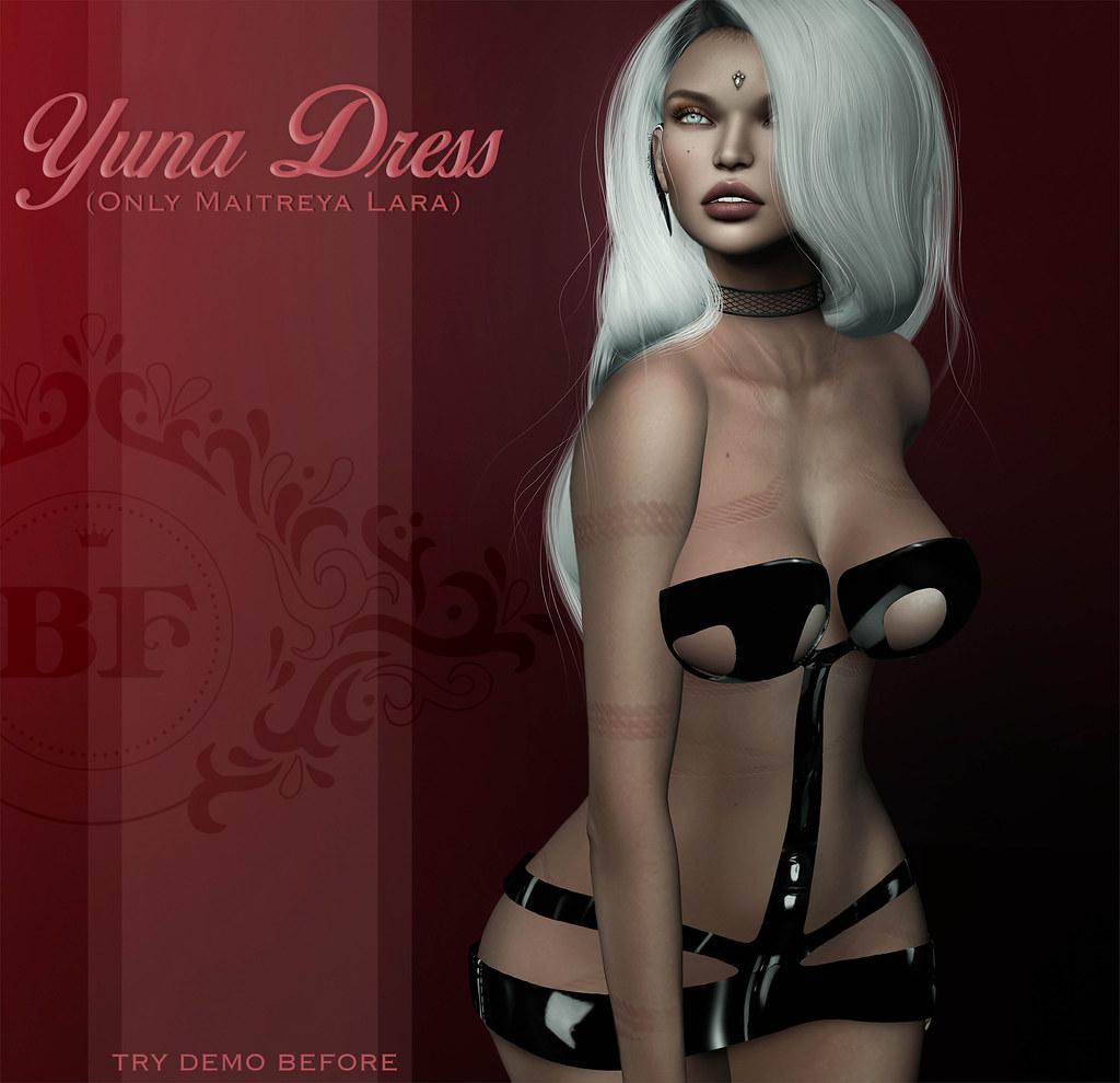 .BF. Yuna Dress at Kinky. - SecondLifeHub.com