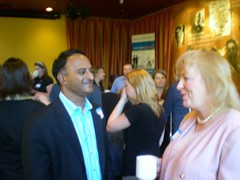 Restaurant Owners and Chefs meet bloggers in DC - by Network Solutions