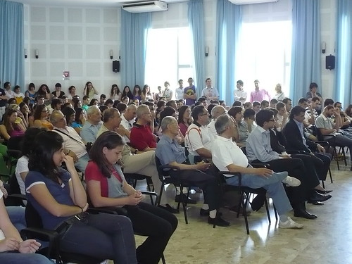Gli alunni del Liceo Scientifico Livio Cambi