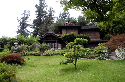 Japanese House, Japanese Garden, Huntington Library, May 2009