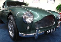 aston martin db4(0.0), aston martin db6(0.0), aston martin db5(0.0), austin-healey 3000(0.0), ac ace(0.0), race car(1.0), automobile(1.0), vehicle(1.0), aston martin db2(1.0), antique car(1.0), classic car(1.0), vintage car(1.0), land vehicle(1.0), sports car(1.0),